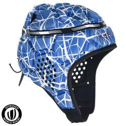 Scrumcap R500 wit/blauw