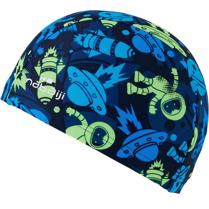 Badmuts textiel print maat S All Astro groen