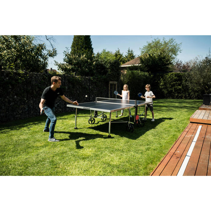 RAQUETTE DE TENNIS DE TABLE FREE FR 130 / PPR 130 OUTDOOR BLEUE