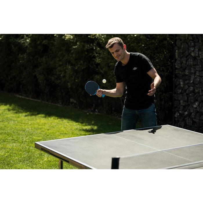 Tafeltennisbatje / Pingpongbatje outdoor PPR 130 blauw