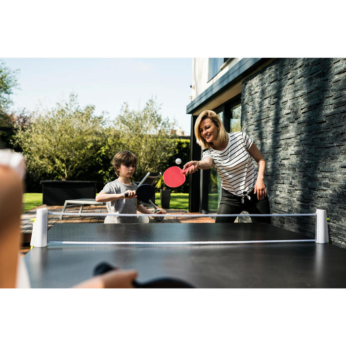 FILET DE TENNIS DE TABLE ROLLNET STANDARD BLANC-JAUNE - 1486369