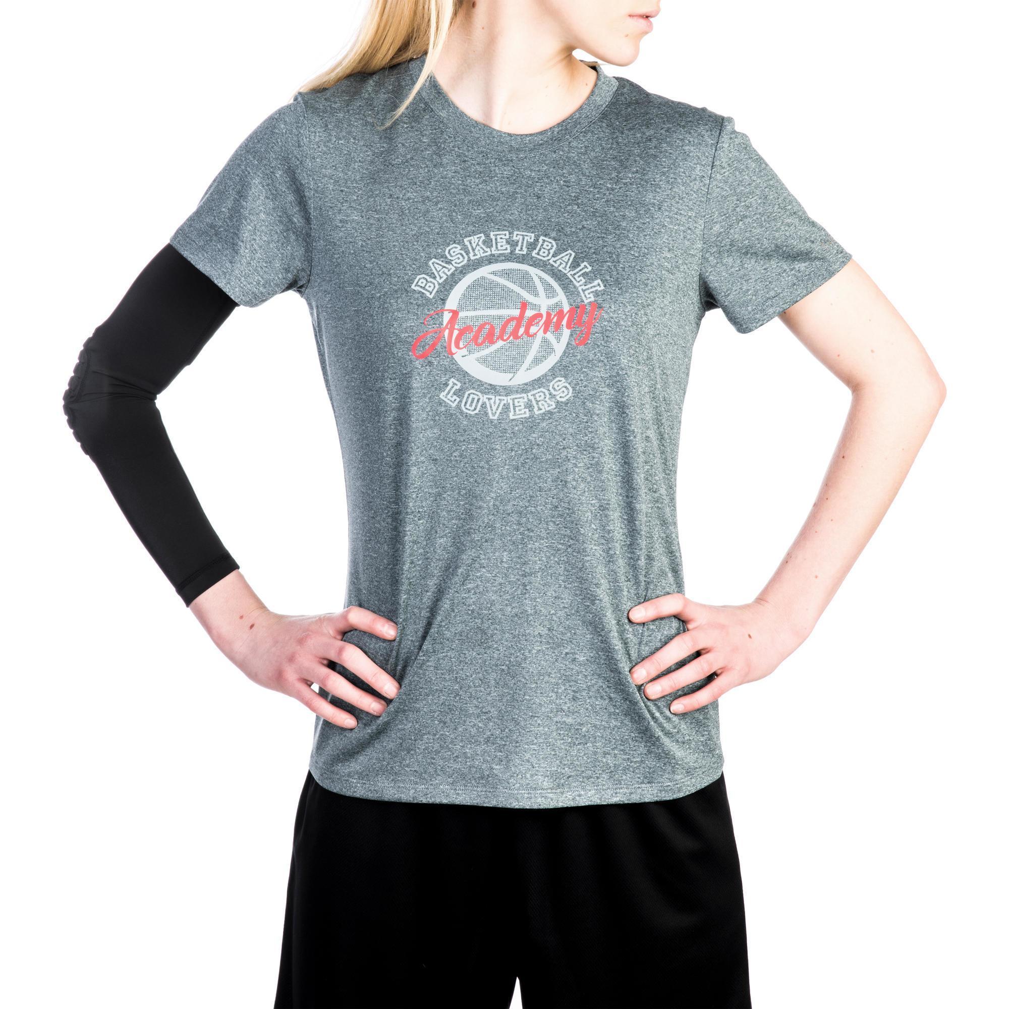 95a2daefa2910 Shirt De Cleveland Confirmee Fast Tarmak Basket Pour Tee Femme gq5xUtPH