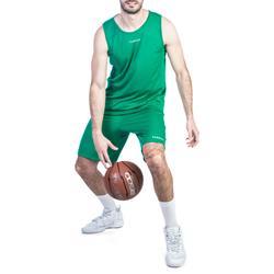 Basketballtrikot T100 Einsteiger Damen/Herren grün