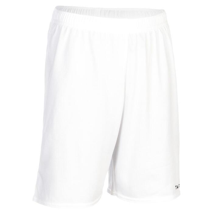 Basketbalshort voor beginnende jongens en meisjes wit SH100