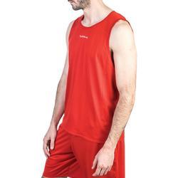 Basketballtrikot T100 Damen/Herren Einsteiger rot