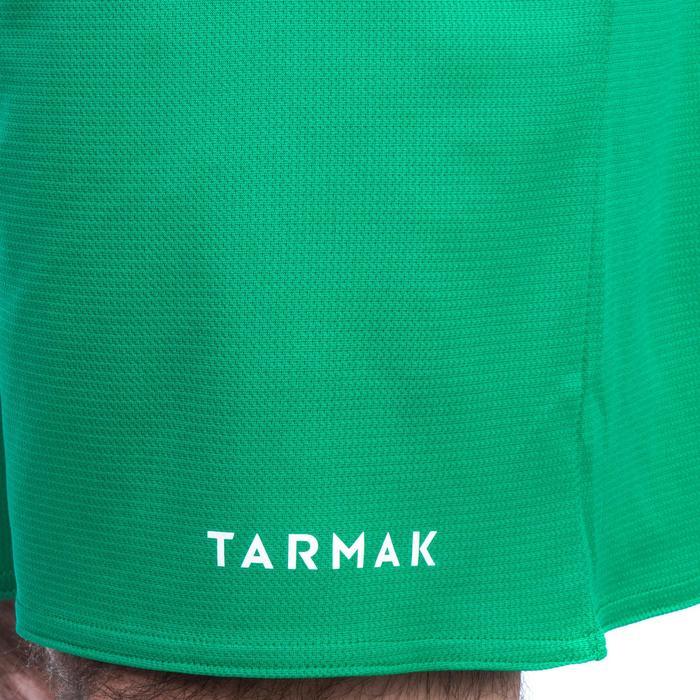 SHORT DE BASKETBALL HOMME/FEMME DEBUTANT SH100 VERT