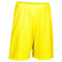 SH100 Boys'/Girls' Beginner Basketball Shorts - Yellow
