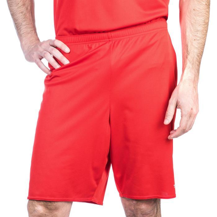 Basketballshorts SH100 Erwachsene rot