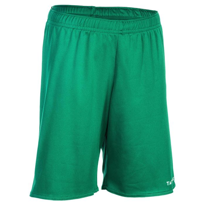 Basketballshorts SH100 Kinder Jungen/Mädchen Einsteiger grün