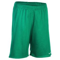 Basketballshorts SH100 Jungen/Mädchen Einsteiger grün