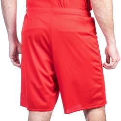 Basketbalshort SH100 rood (heren)