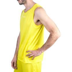 Basketballtrikot T100 Einsteiger Damen/Herren gelb