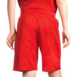 Pantalón Baloncesto Tarmak SH100 Niños Corto Rojo