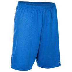 Basketbalshort SH100 blauw (heren)