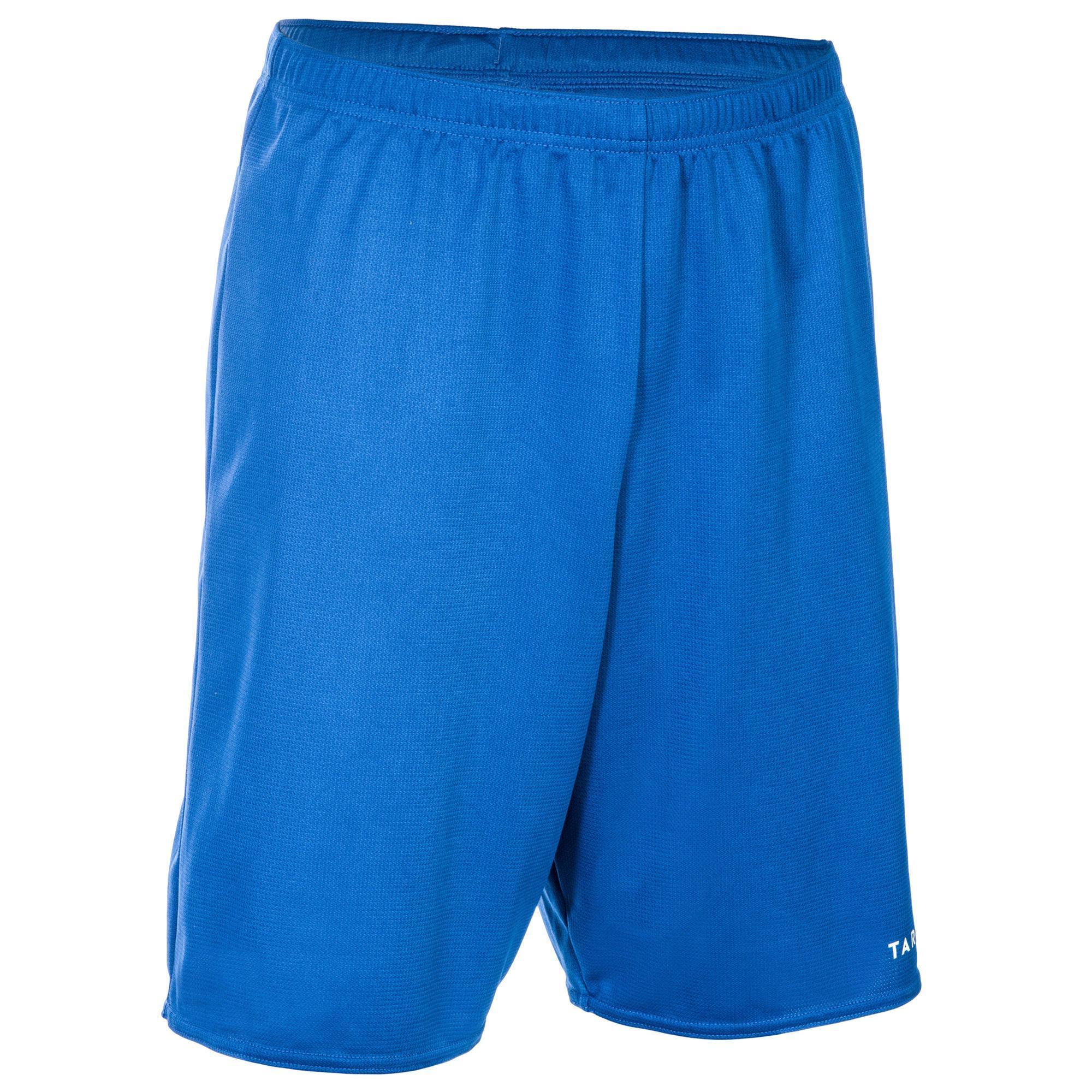 Tarmak Basketbalshort voor beginnende heren SH100 blauw