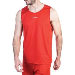 Basketballtrikot T100 Einsteiger Damen/Herren rot