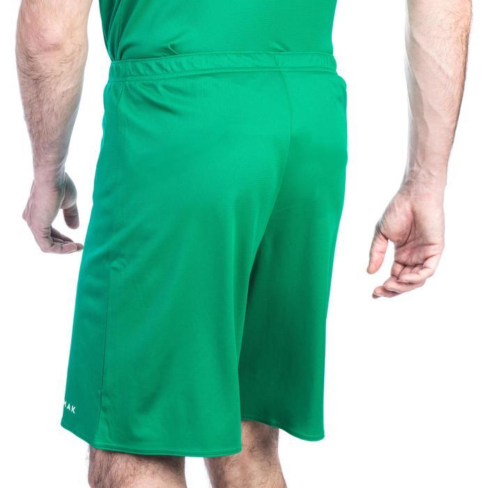 Basketballshorts SH100 Damen/Herren Einsteiger grün