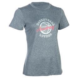 Basketbal T-shirt voor halfgevorderde dames Fast Cleveland