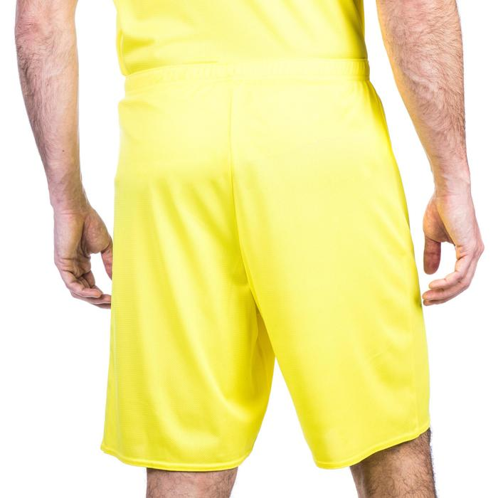 SHORT DE BASKETBALL HOMME SH100 JAUNE