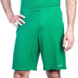 Basketbalshort voor heren SH100 groen