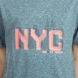 CAMISETA FAST DE BALONCESTO NIVEL PERFECCIONAMIENTO AZUL GRIS NYC