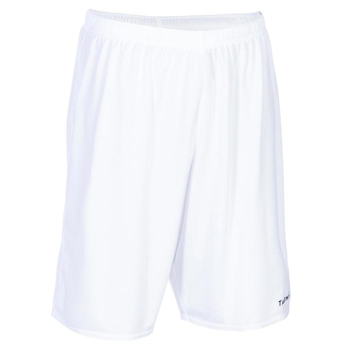 Basketbalshort voor beginnende heren/dames SH100 wit