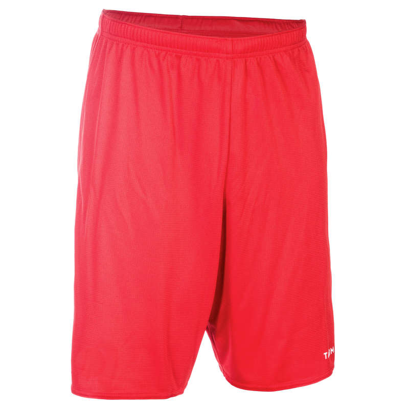 MAN BASKETBALL OUTFIT Basketball - Basketball Shorts SH100 - Red TARMAK - Basketball