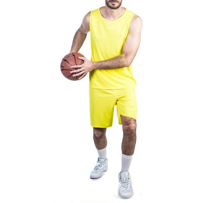 Basketballshorts SH100 Herren gelb