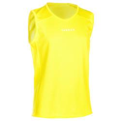 T100 Boys'/Girls' Beginner Basketball Jersey - Yellow