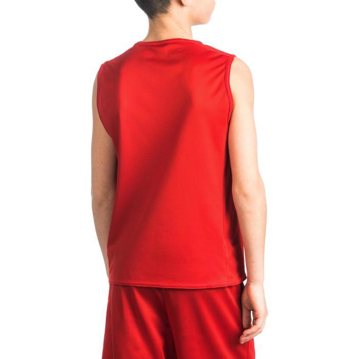 Camiseta Baloncesto Tarmak T100 Niños Rojo