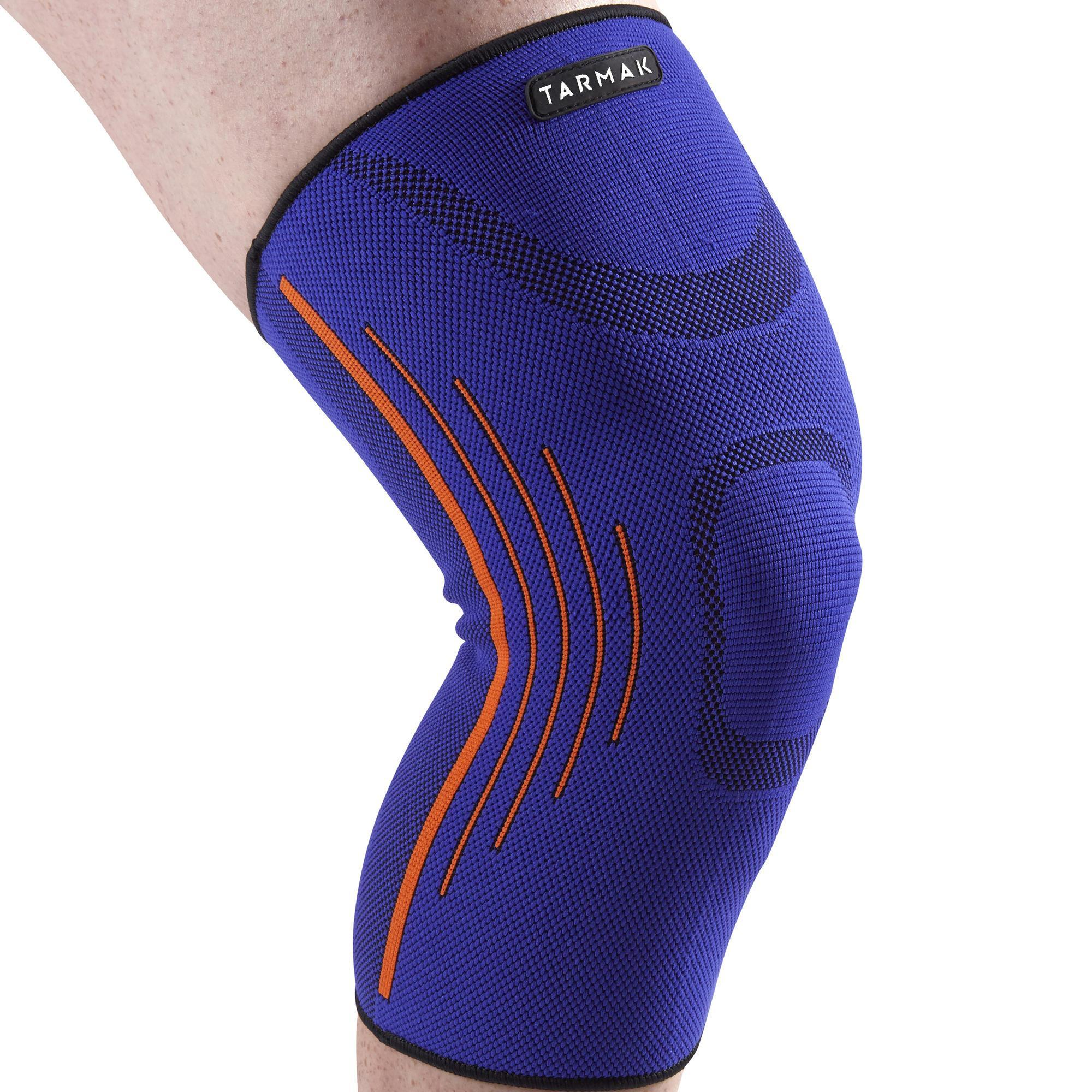 Kniebandage Soft 300 links/rechts Kompression Erwachsene blau