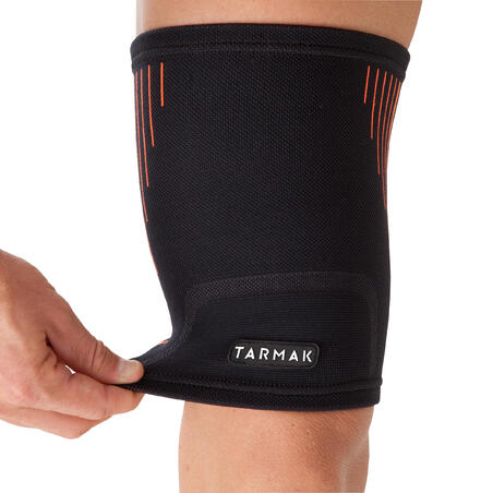 Soft 300 Men's/Women's Right/Left Compression Thigh Support - Black