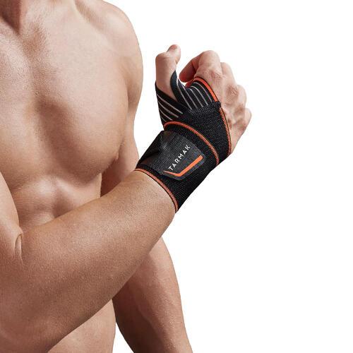 Maintien du poignet gauche/droite pour homme/femme SOFT 300 noir