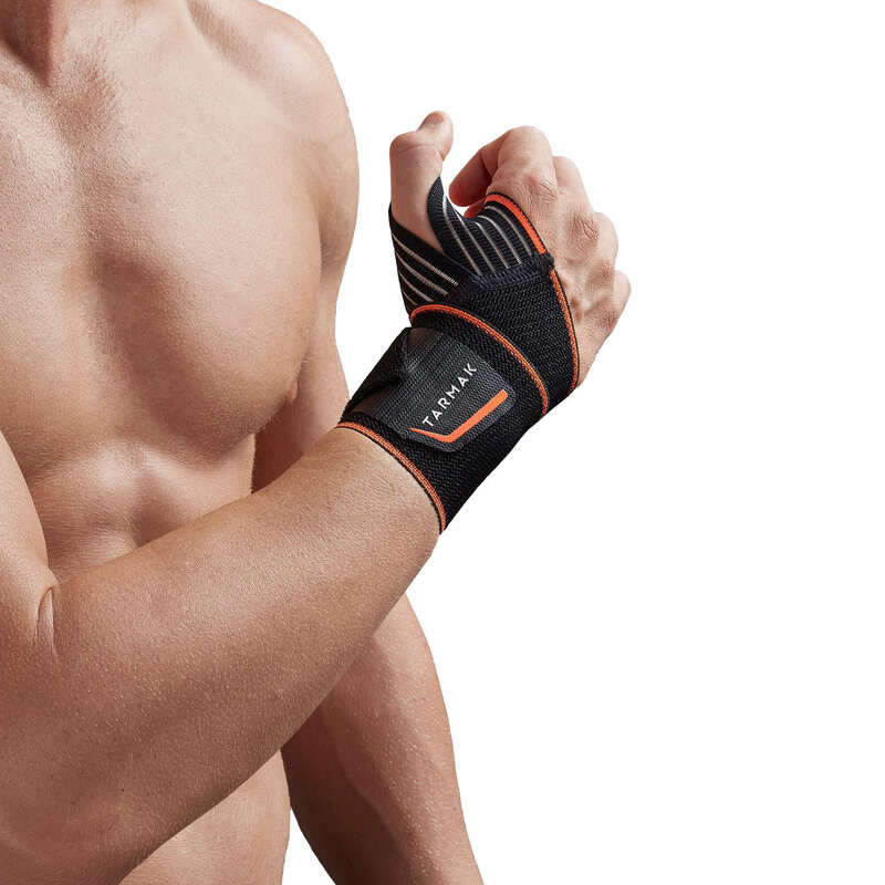 JOINT / MUSCLE SUPPORTS Basketball - Soft 300 Wrist Support - Black TARMAK - Basketball