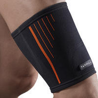 Soft 300 Right/Left Compression Thigh Support Black - Men's/Women's