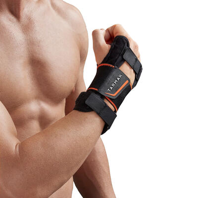 Strong 700 Men's/Women's Left/Right Wrist Support - Black