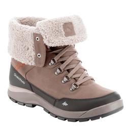 Chaussures de randonnée neige femme SH500 tige haute chaude imperméables
