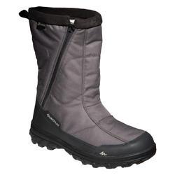 Schneestiefel Winterwandern SH100 X-Warm wasserdicht Herren khaki