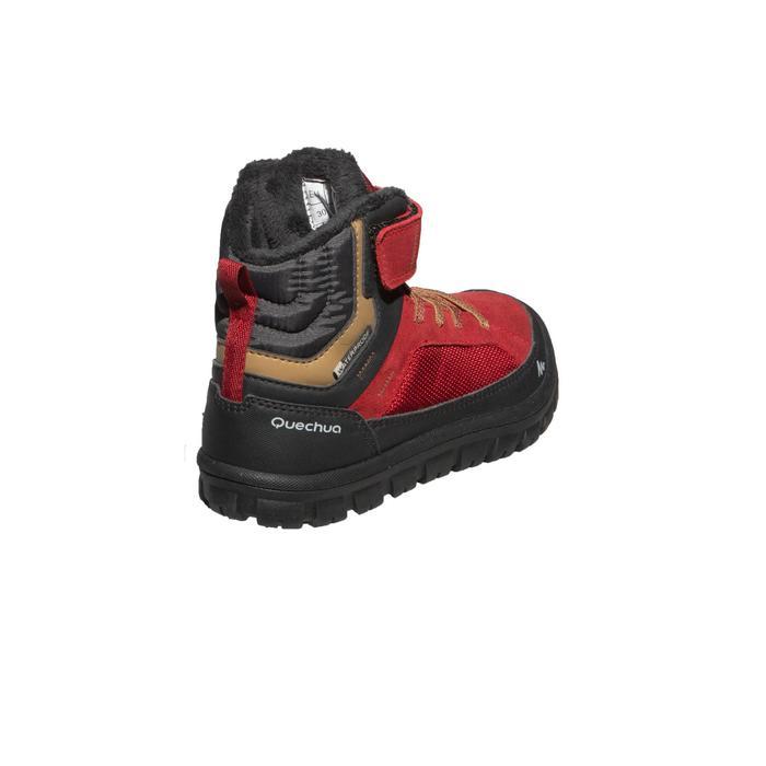 Quechua Chaussures de randonnée neige junior SH500 warm scratch mid ... fca7eab44538