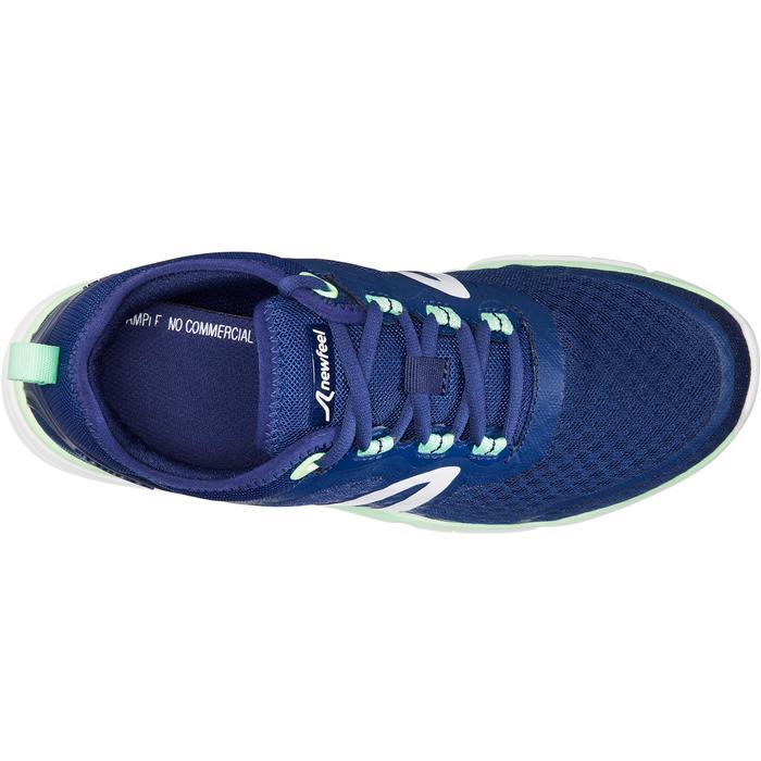 Chaussures marche sportive femme Soft 540 Mesh marine / vert