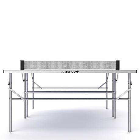 Tavolo free ping pong ppt 130 ft 720 outoor artengo for Materiale tavolo ping pong