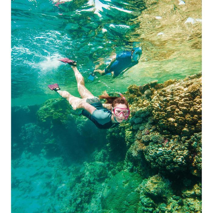Kit de snorkeling PMT palmes masque tuba 100 adulte - 1486847