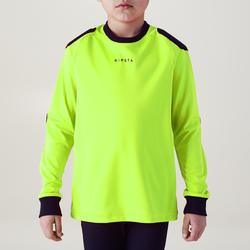 Keepersshirt kind F100 geel