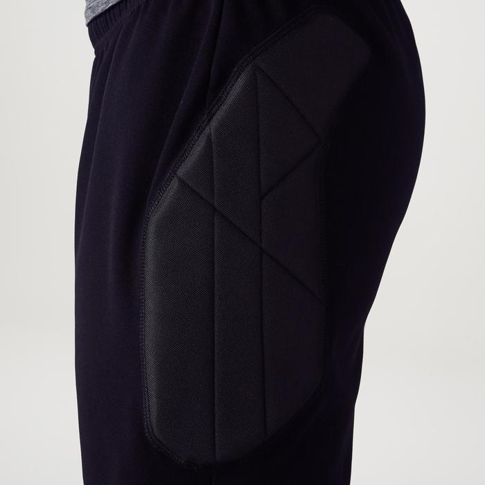 Pantalón pirata de portero júnior F100 negro