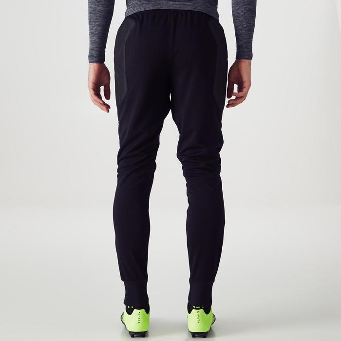 Pantalón de portero júnior F100 negro