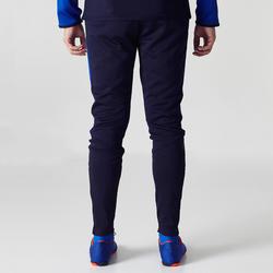 Pantalon d'entraînement de soccer enfant TP500 bleu noir