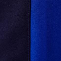 兒童款美式足球訓練長褲TP500-藍色/黑色