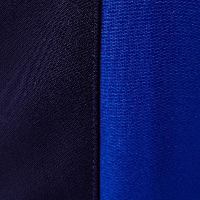 Voetbal trainingsbroek TP500 blauw zwart
