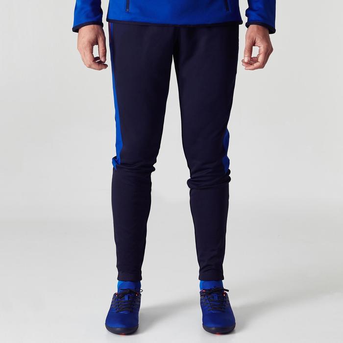 Fußball-Trainingshose TP500 Kinder blau/schwarz