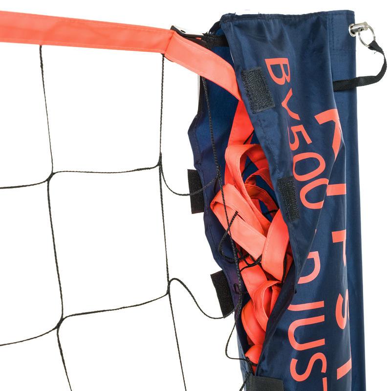 ชุดตาข่ายวอลเลย์บอลชายหาดแบบปรับได้รุ่น BV500